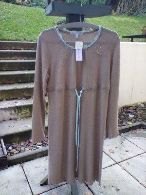 Kleid Rebecca & Bros Gr. 36 Braun Camel Neu