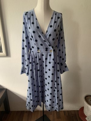 Kleid Retro Wickelkleid Dots