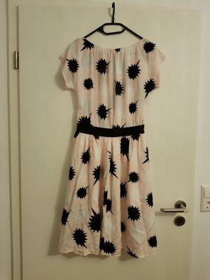 Kleid Rockabilly von DIESEL in rose schwarz weiß Gr. S