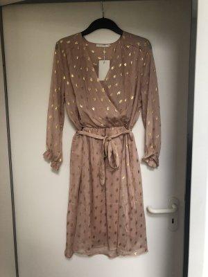 Kleid rosa Gold gr S/M