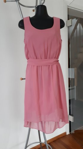 Angie High Low Dress pink-light pink