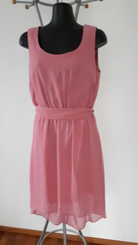 Angie High Low Dress pink