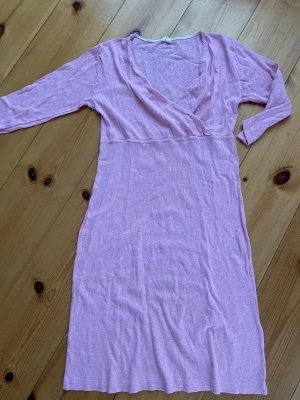 Kleid Rosa hess Natur 38/40 romantisch Strickkleid