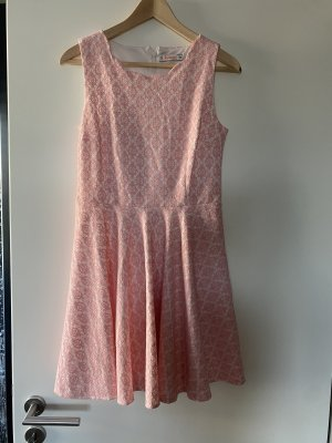 Kleid rosa spitze M 38