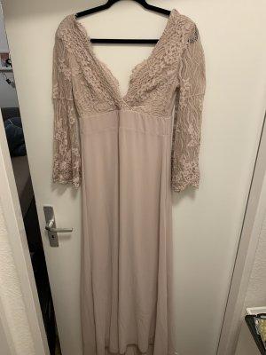 Kleid rose spitze lang