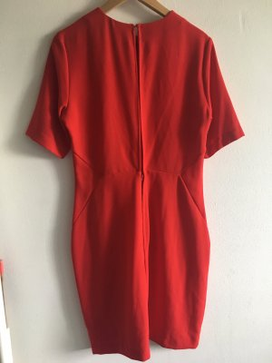 H&M Empire Dress red
