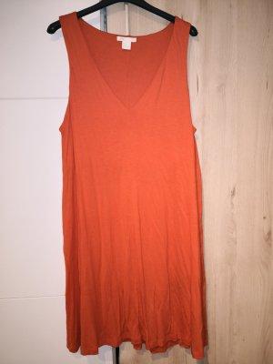 H&M Jerseyjurk rood