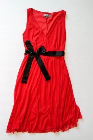 Zalando A Line Dress red polyester