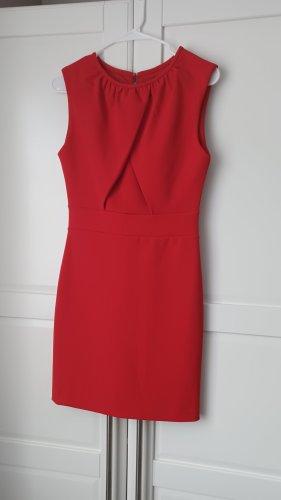 Kleid, rot, Etuikleid, Cocktailkleid, Größe 34