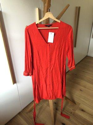 Kleid rot gold Vero Moda