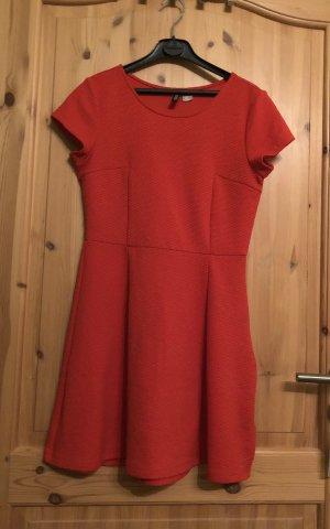 Kleid rot H&M Gr.38