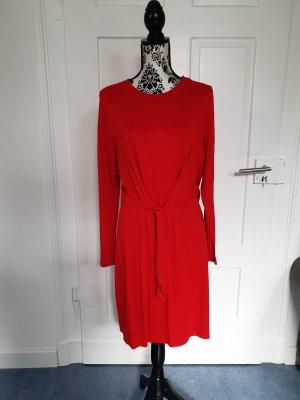 Kleid, rot im Wickellook...nwtg.Gr.L