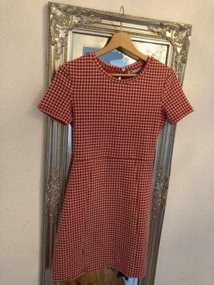 Kleid rot weiß von Zara