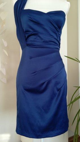 Kleid, Royal blau, Gr. S, schmall und beautiful, elastisch, effektvoll, made in U.S.A