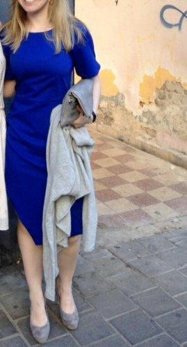 Asos Robe fourreau bleu