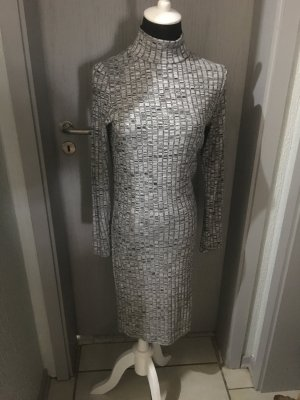 Kleid Rückenausschnitt, grau, Größe M