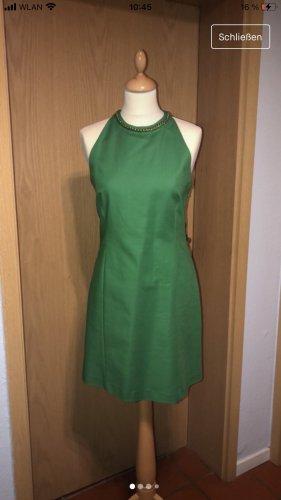 Kleid rückenfrei grün