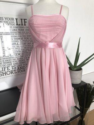 Sukienka gorsetowa jasny różowy