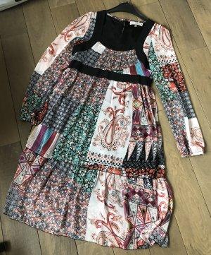 Kleid S bunt Urban Behaviour Tunika Shirt Top Bluse