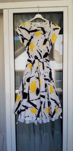 Kleid S M true vintage 80er 90er retro Baumwolle Sommerkleid