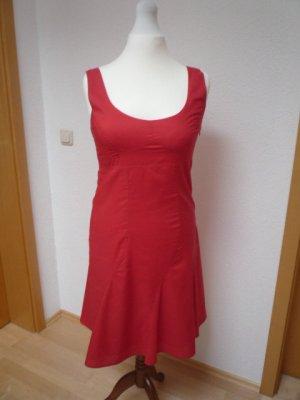 Kleid S. Oliver, rot, Gr. 38, schulterfrei