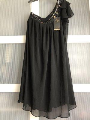 Kleid S schwarz steine