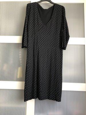 Kleid S schwarz weiss