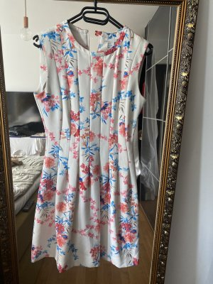 Kleid S weiß rosa