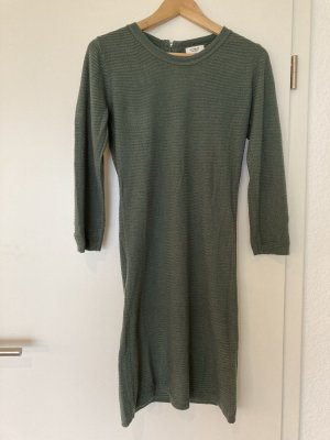 Jaqueline de Yong Sweat Dress sage green