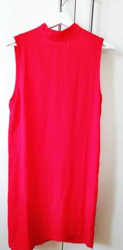 Kleid Samsoe&Samsoe rot Crop racing red Theta-dress S NEU