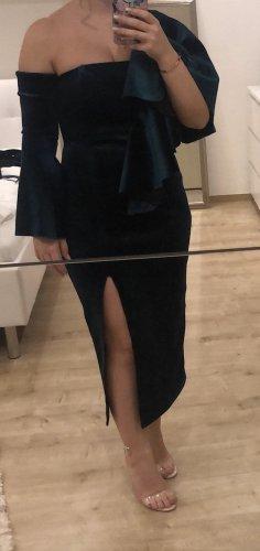 Kleid Samt Grün