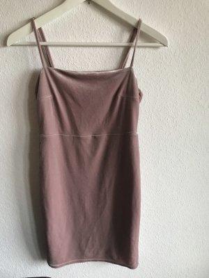 Kleid Samt New Look S Rosé