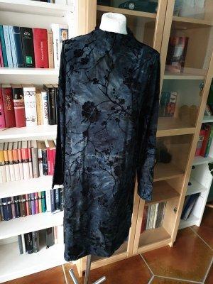 Kleid Samt YAS Gr. M (38) Minikleid Langarm Neu Samtkleid