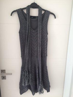 Kleid + Schal, silber, Gr. M *NEU* Vero Moda