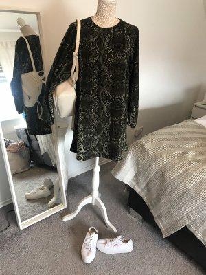 Kleid Schlangenmuster H&M