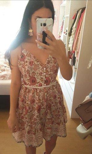 Kleid Schleife hinten Rosen Blumen Blüten blogger hipster boho S