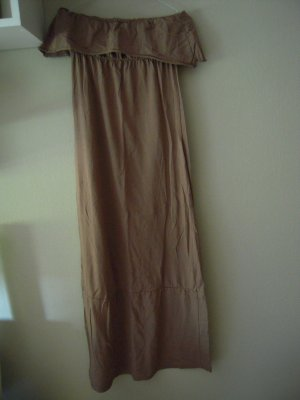 Review Empire Dress light brown