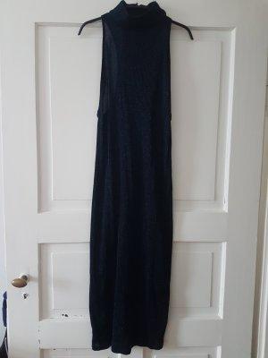 Kleid Schulterfrei dunkelblau