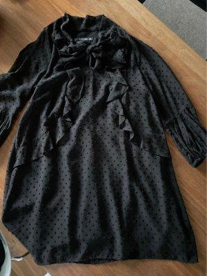 Kleid schwarz 3/4 Arm von Zara