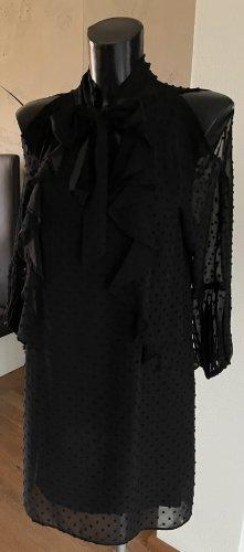 Kleid schwarz 3/4 Arm von Zara Gr. 36-neu-