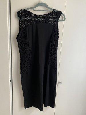 Kleid schwarz 44 XXL spitze