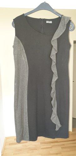 sisters Vestido elástico negro-gris