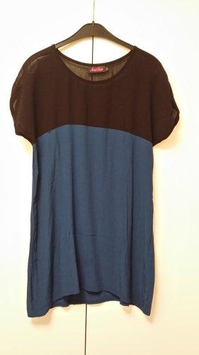 Kleid schwarz/blau von Motel Rocks in Gr M