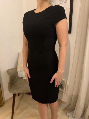 Kleid schwarz Business Enggeschnitten H&M