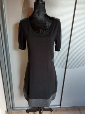 Kleid schwarz grau Gina