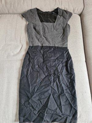 Kleid, schwarz/grau, Mango, S