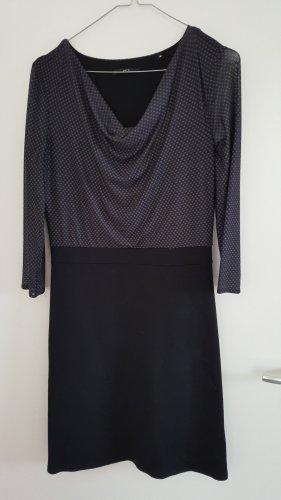 Kleid, schwarz/grau, ZERO, 1x getragen