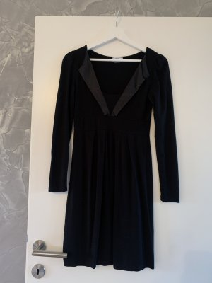 b.p.c. Bonprix Collection Longsleeve Dress black viscose