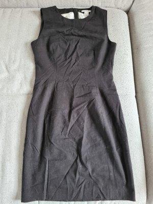 Kleid, schwarz, H&M, 38