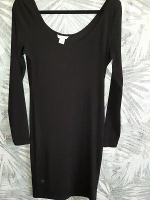 H&M Divided Stretch jurk zwart